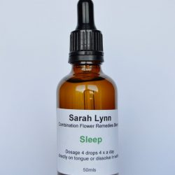 Combination flower remedies for sleep